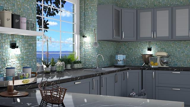 pomieszczenia-w-kolorze-niebieskim-kuchnia