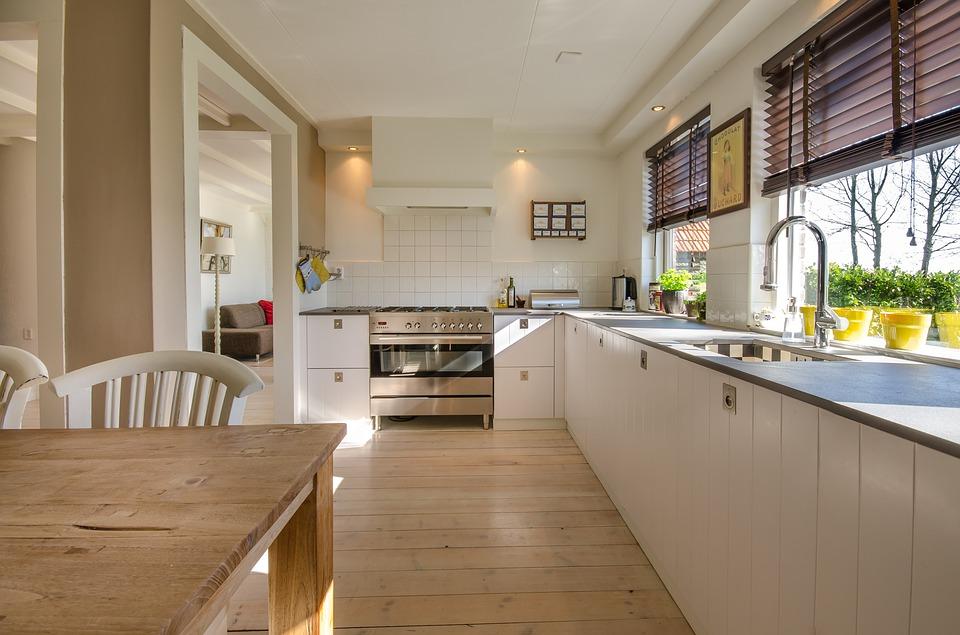 trojkat roboczy w kuchni